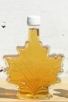 large glass maple leaf